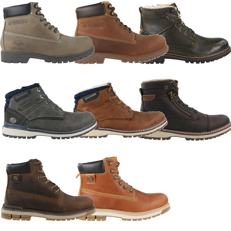 35ad0ea87386c2 Dockers Combat Boots Schuhe Outdoor Stiefel Winterstiefel Leder ...