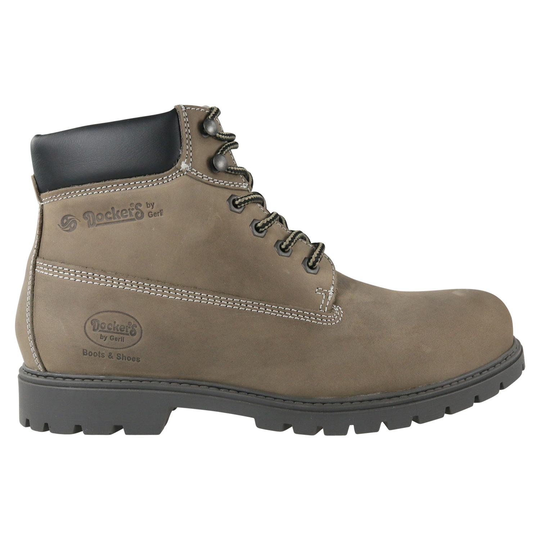 3c3aaafef01305 Dockers Combat Boots Winterschuhe Stiefel Herren Taupe 19PA040 400 ...