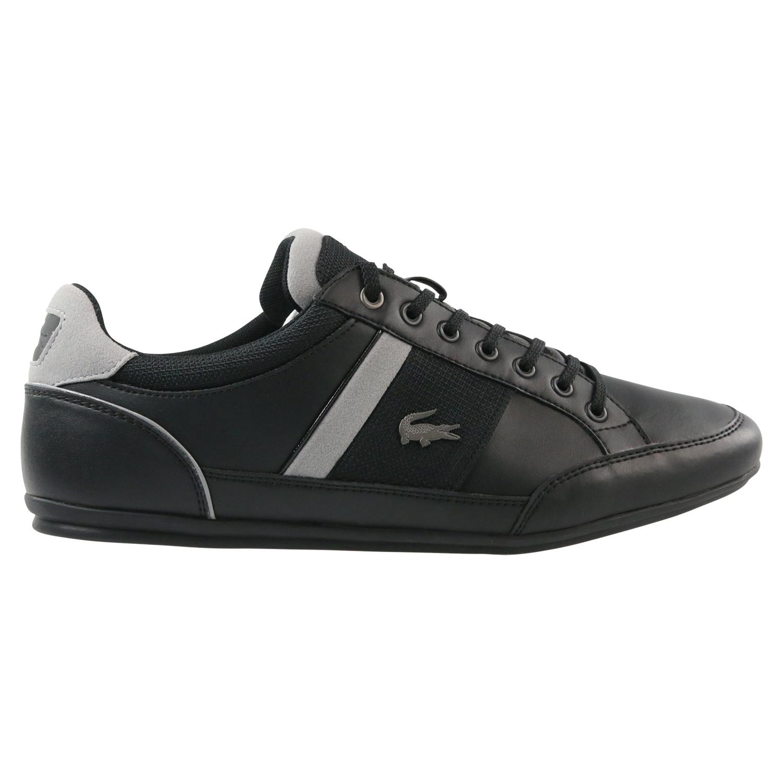 lacoste chaymon 318 5 sneaker schuhe herren schwarz. Black Bedroom Furniture Sets. Home Design Ideas