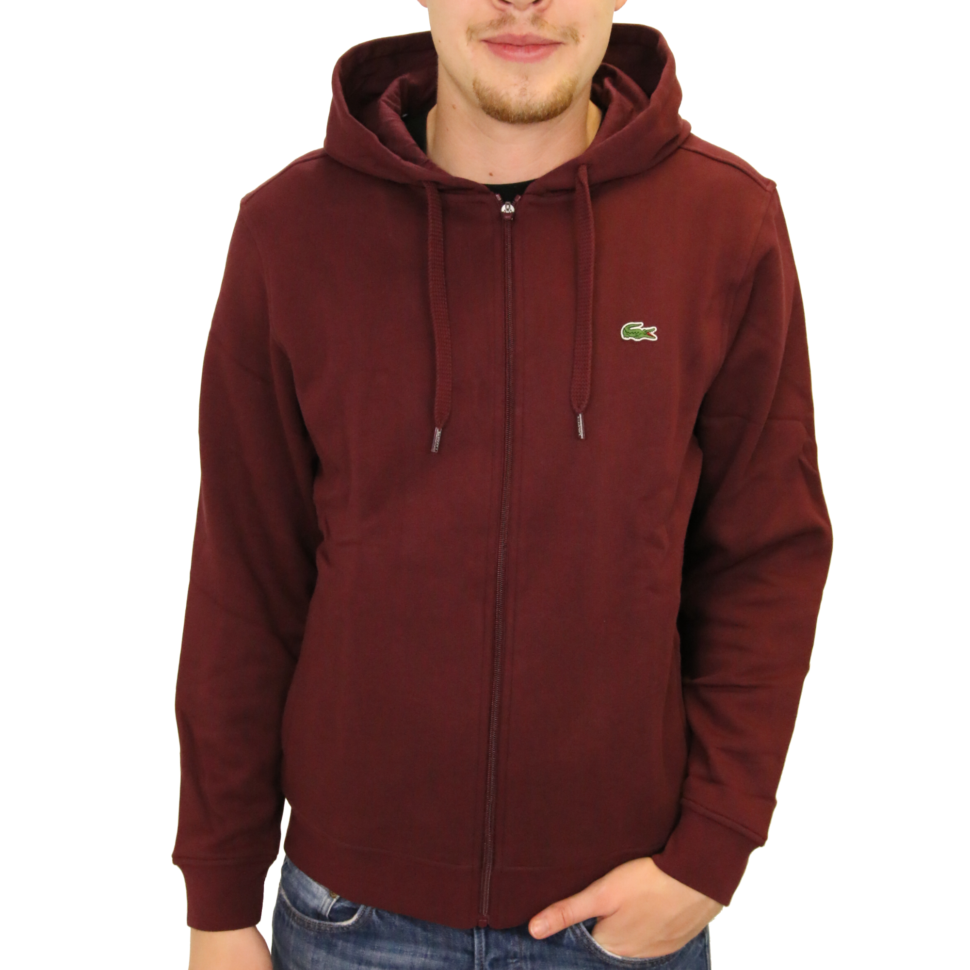 lacoste kapuzen sweatshirt jacke kapuzenjacke hoodie sweatshirtjacke herren. Black Bedroom Furniture Sets. Home Design Ideas