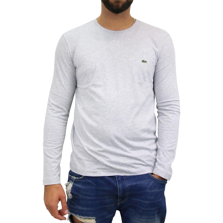 lacoste t shirt longsleeve langarmshirt pullover shirt. Black Bedroom Furniture Sets. Home Design Ideas