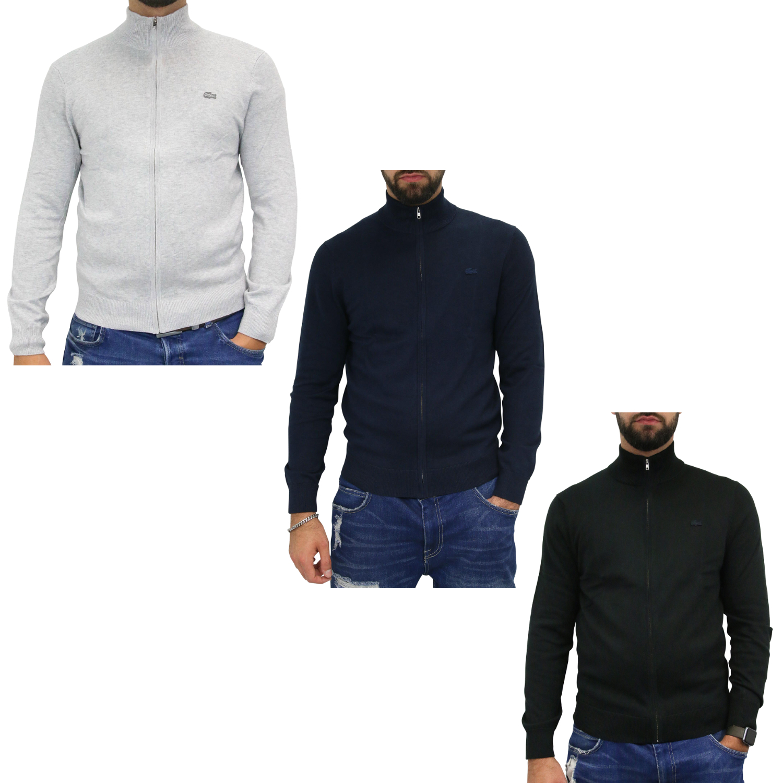 promo code 21a5f f843c Kleidung & Accessoires Lacoste Reißverschluss-Strickjacke ...