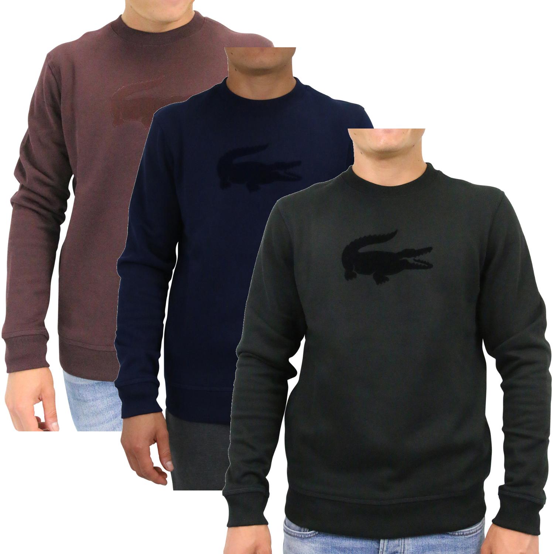 pretty nice 40e13 56ca6 Details zu Lacoste Shirt Sweatshirt Pullover Herren SH9258