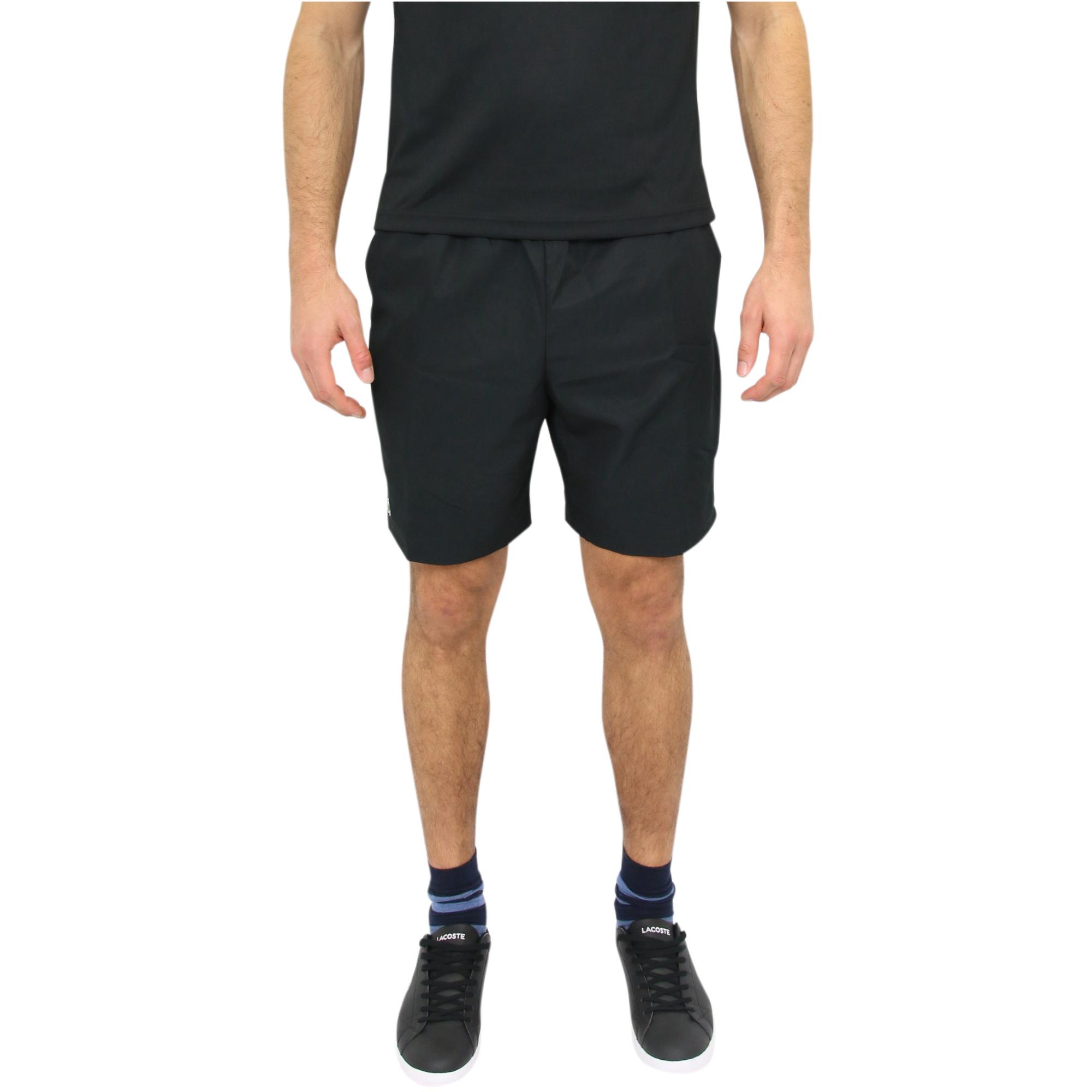 lacoste sport shorts kurze hose sporthose tennishose herren gh5522 6kj schwarz ebay. Black Bedroom Furniture Sets. Home Design Ideas