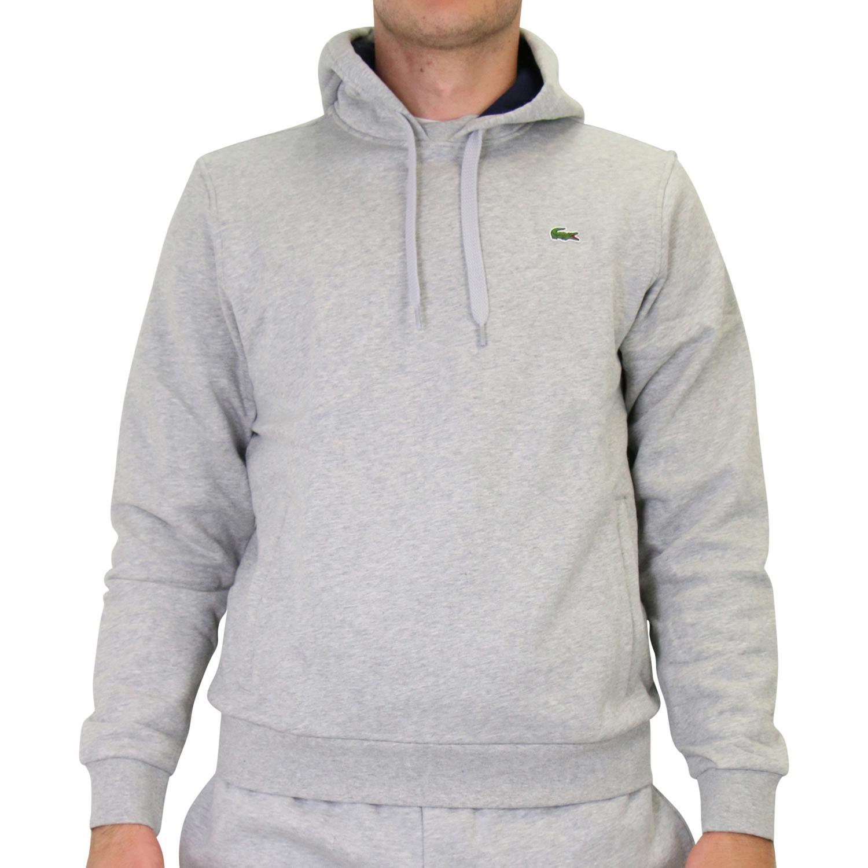 42571dcf4597 Lacoste Sweatshirt mit Kapuze Hoodie Pullover Kapuze Grau Herren ...