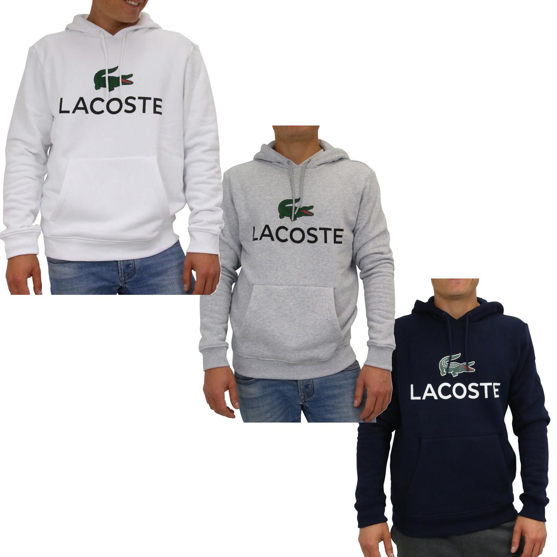 45489a2d10a5 Lacoste Sweatshirt mit Kapuze Pullover Kapuzenpulli Hoodie Herren ...