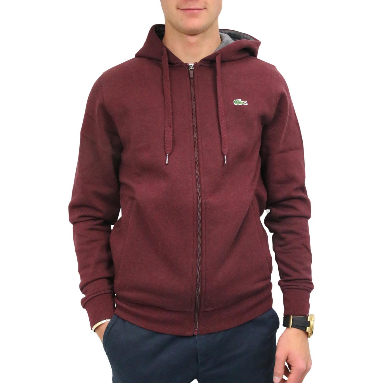 915e8947156c Lacoste Sweatshirt mit Kapuze Jacke Pullover Sweatshirtjacke Herren ...
