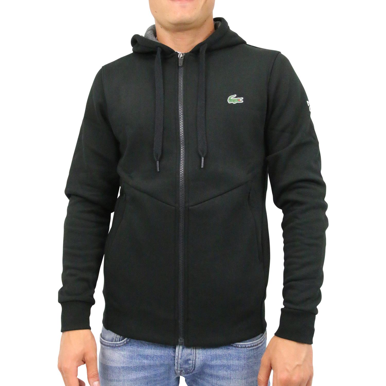 Lacoste Sweatshirt mit Reißverschluss Hoodie Jacke Herren SH9488 G44 ... fcd10c779a