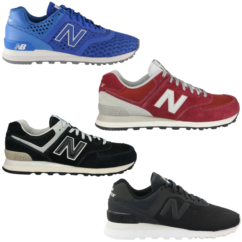 Details zu New Balance ML574 Schuhe Sneaker Turnschuhe Herren Damen Textil Diverse Farben