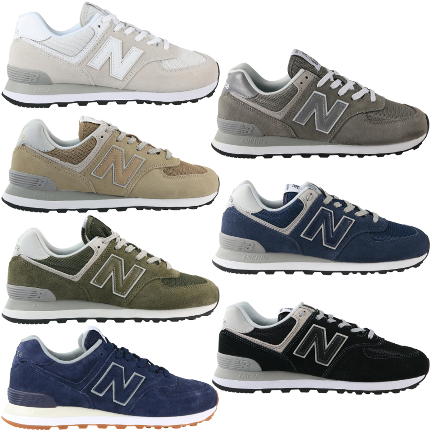 Details zu New Balance 574 ES Sea Escape Sneaker Schuhe Herren ML574