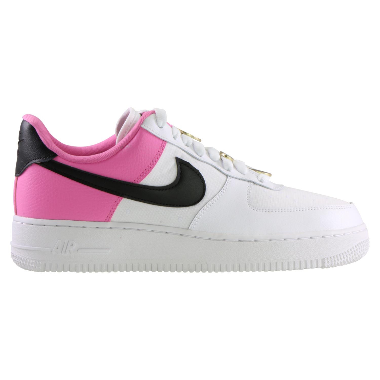 Details zu Nike Air Force 1 '07 SE Sneaker Freizeitschuhe Damen Weiß AA0287 107