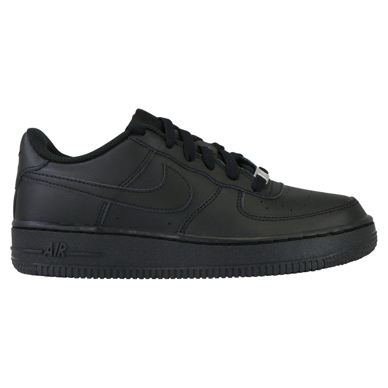 Details zu Nike Air Force 1 GS Schuhe Sneaker Kinder Damen Schwarz 314192 009