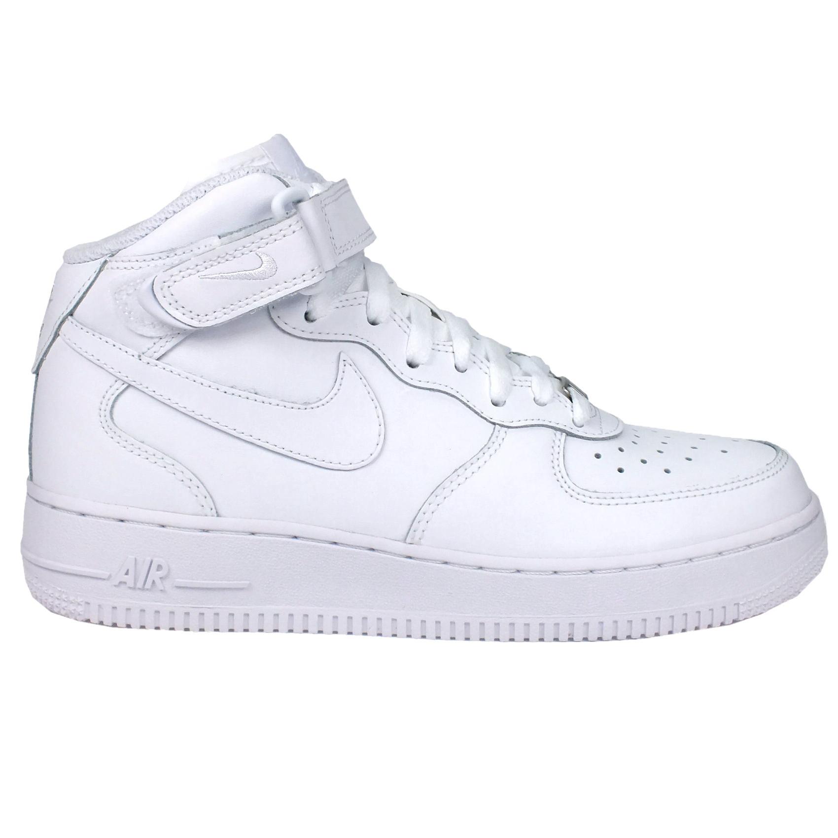 Nike-Air-Force-1-Mid-06-GS-Schuhe-Turnschuhe-Sneaker-Kinder-Jungen-Damen