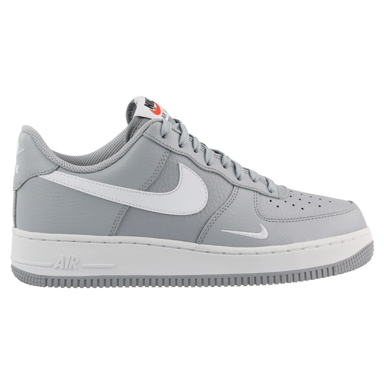 Nike Air Force 1 Sneaker Schuhe Turnschuhe Herren Grau ...