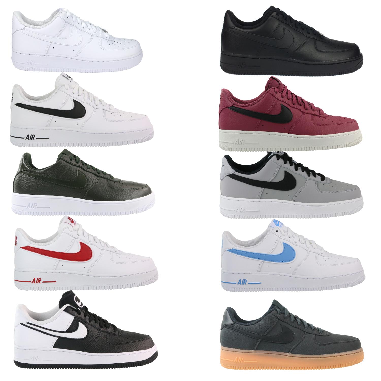 Nike Air Force 1 /'07 LV8 Sneaker Schuhe Herren Schwarz  AT6147 001