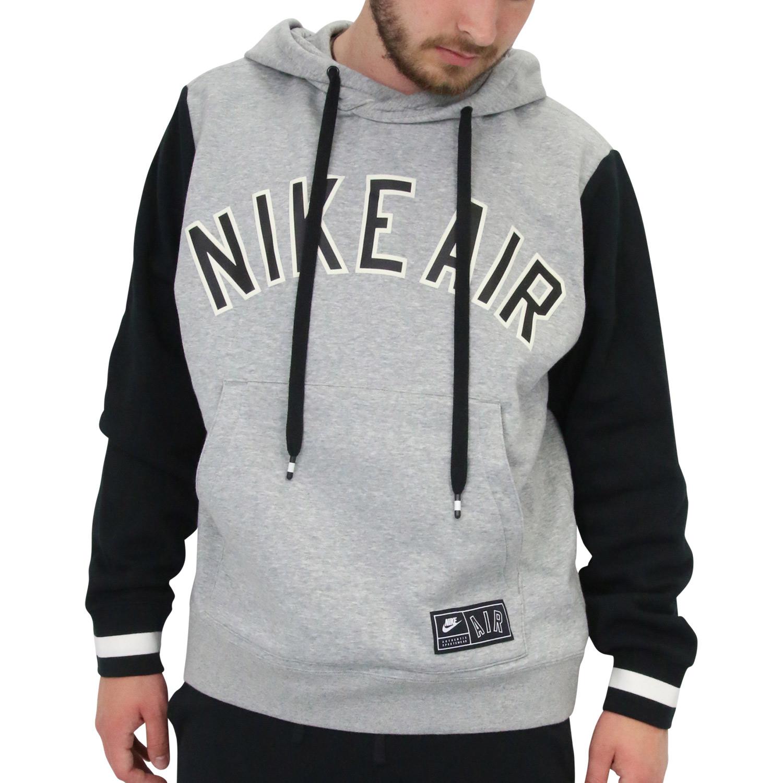 discount sale official shop new style Details zu Nike Air Hoodie Kapuzenpullover Pulli Swetashirt Herren AR1817  063 Grau