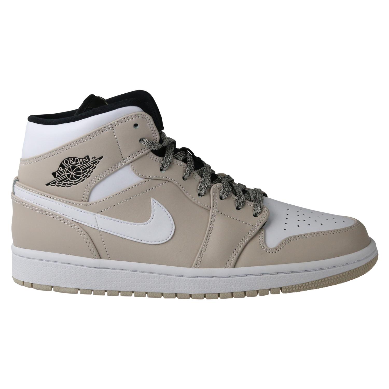 the best attitude 3746c 1c998 Nike Air Jordan 1 Mid Sneaker Herren Sneaker
