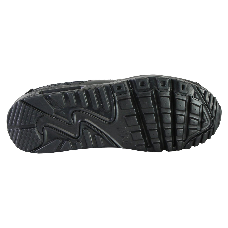 NIKE AIR MAX 90 LEATHER (GS) Damen Sneaker Schwarz | real