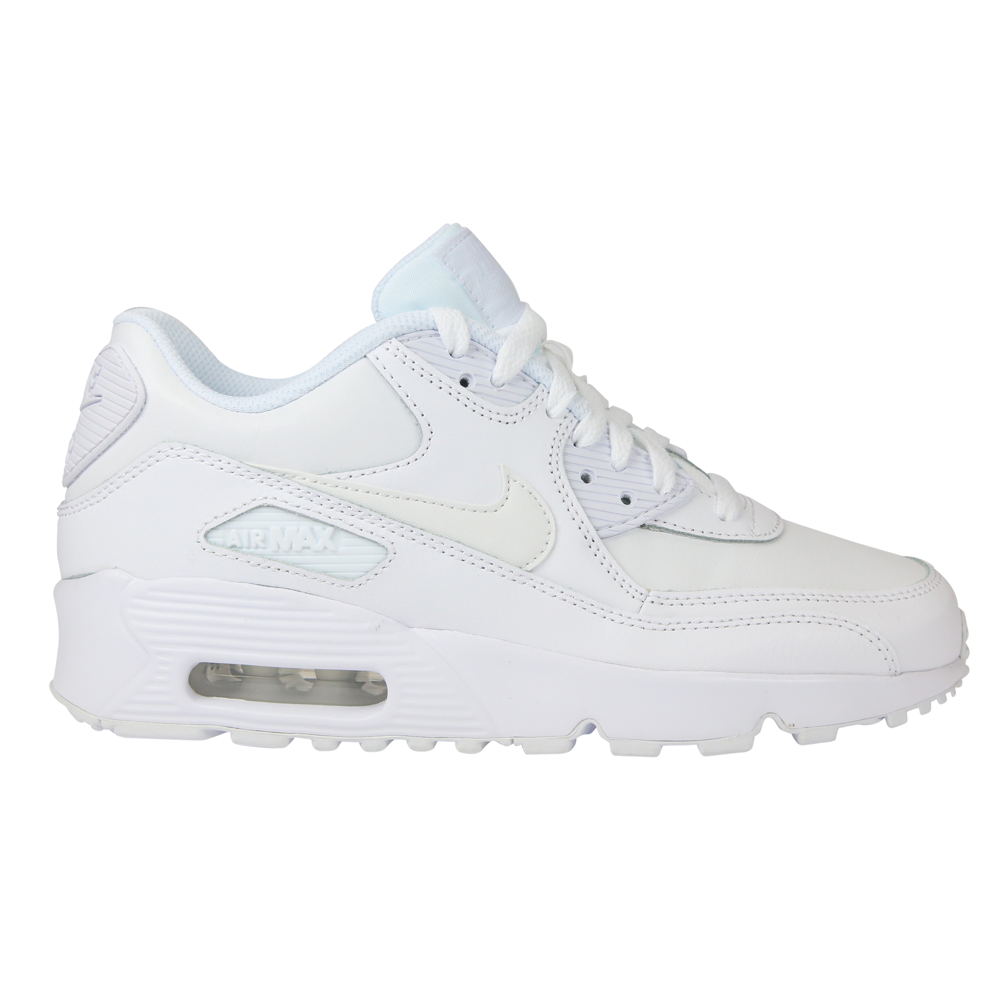 Nike Air Max 90 Leather (GS) Schuhe Turnschuhe Sneaker Kinder Damen ...