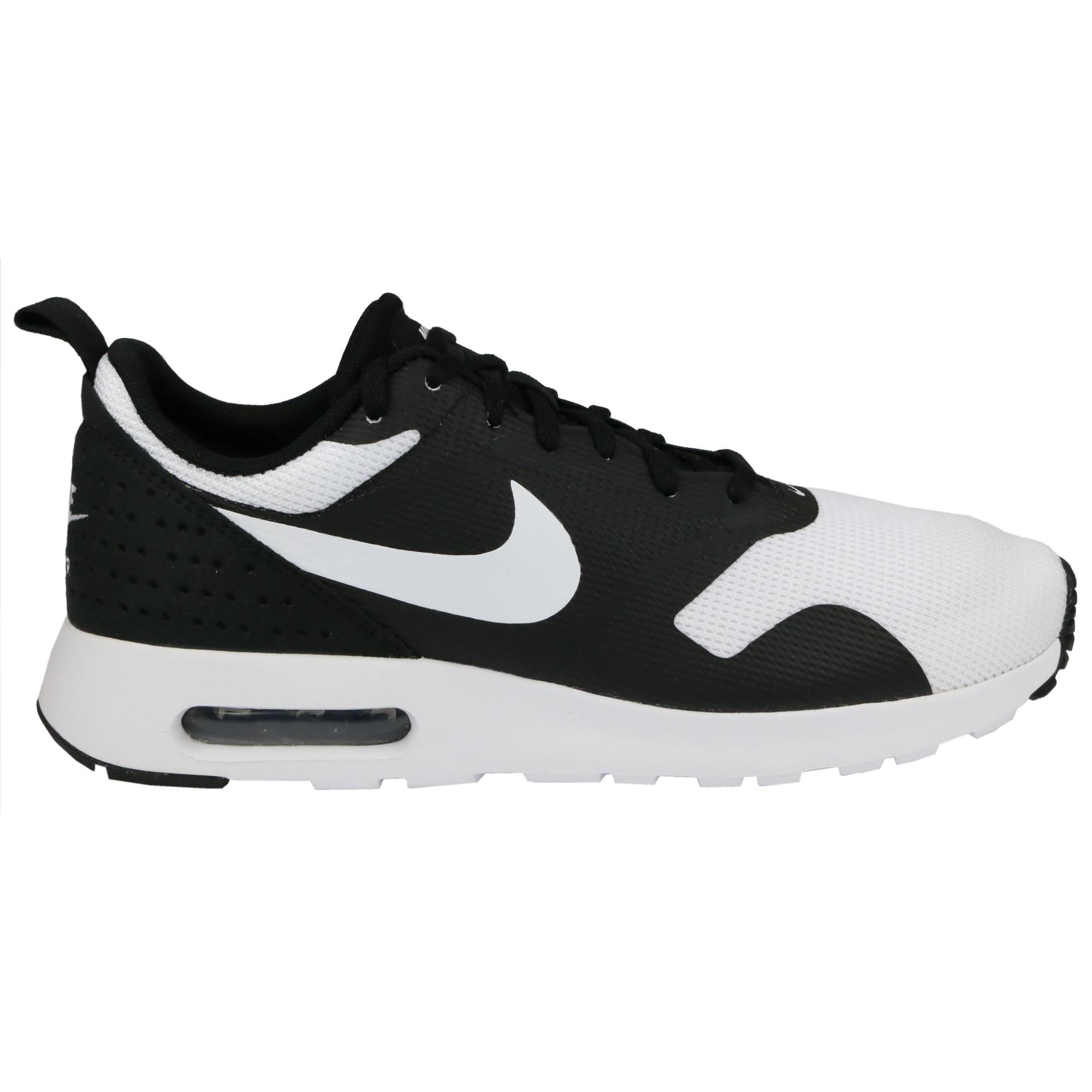 nike sportswear air max tavas essential - baskets basses - black/white