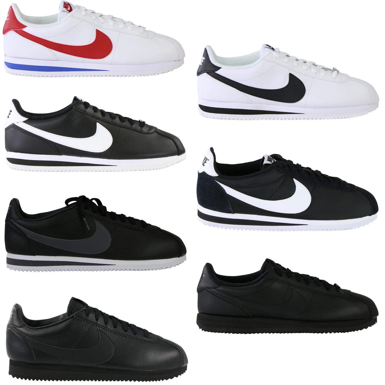 Details zu Nike Classic Cortez Schuhe Sneaker Herren Damen Nylon Leder