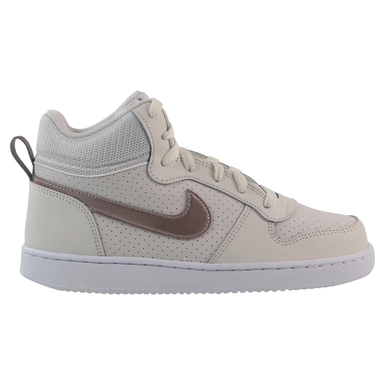 Details zu Nike Court Borough Mid (GS) Sneaker Schuhe Kinder Damen 845107 007 Beige