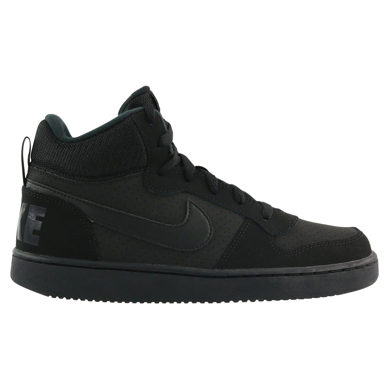 Details zu Nike Court Borough Mid (GS) Schuhe Sneaker Kinder 839977 001 Schwarz