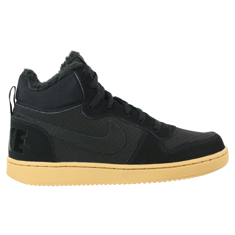 c95f8213d9cf4 Nike Court Borough Mid Winter (GS) Sneaker Schuhe Kinder Schwarz ...