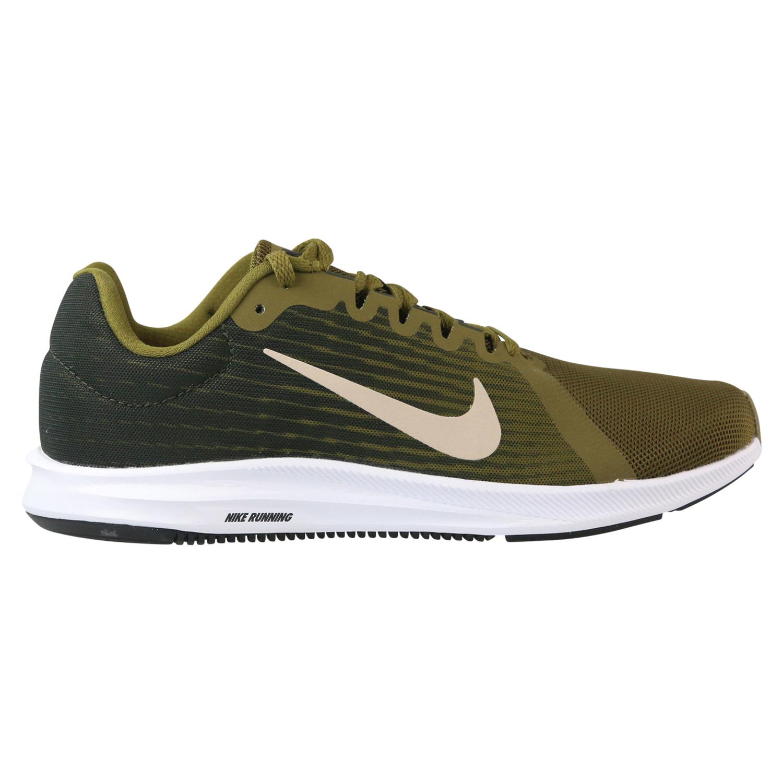 Nike Herren Downshifter 8 Laufschuhe, grün, 44 EU