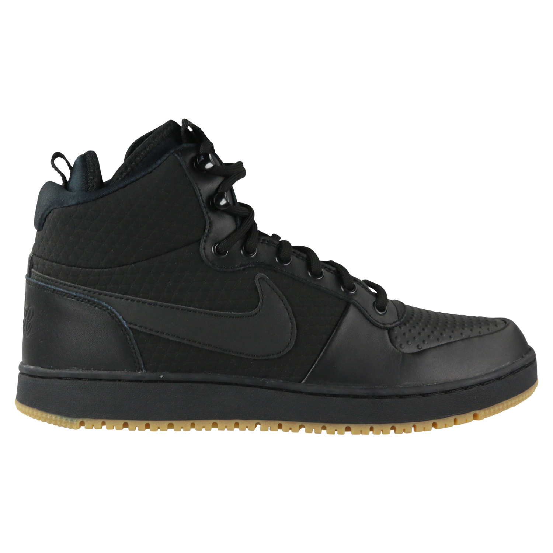 nike ebernon mid winter sneaker herren schuh schwarz. Black Bedroom Furniture Sets. Home Design Ideas
