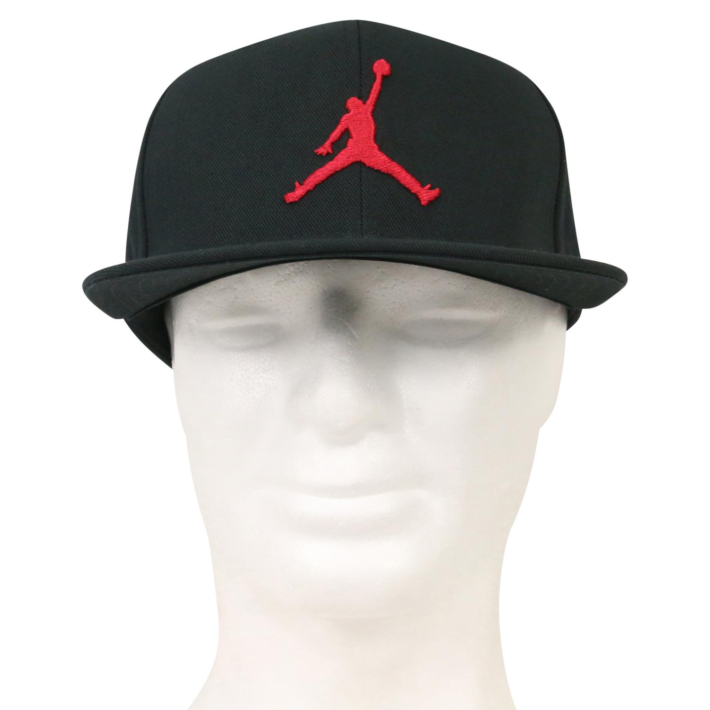 3c4fae4518 Nike Jordan Pro Jumpman Snapback Kappe Cappi Schirmmütze Cap AR2118 ...