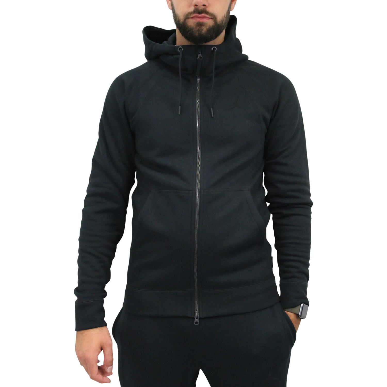 3ab0a96396 Nike Jordan Sportswear Wings Fleece Hoodie Jacke Herren 860196 010 ...