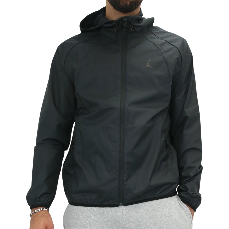 nike jordan sportswear wings herren windbreaker jacke windjacke schwarz ebay. Black Bedroom Furniture Sets. Home Design Ideas