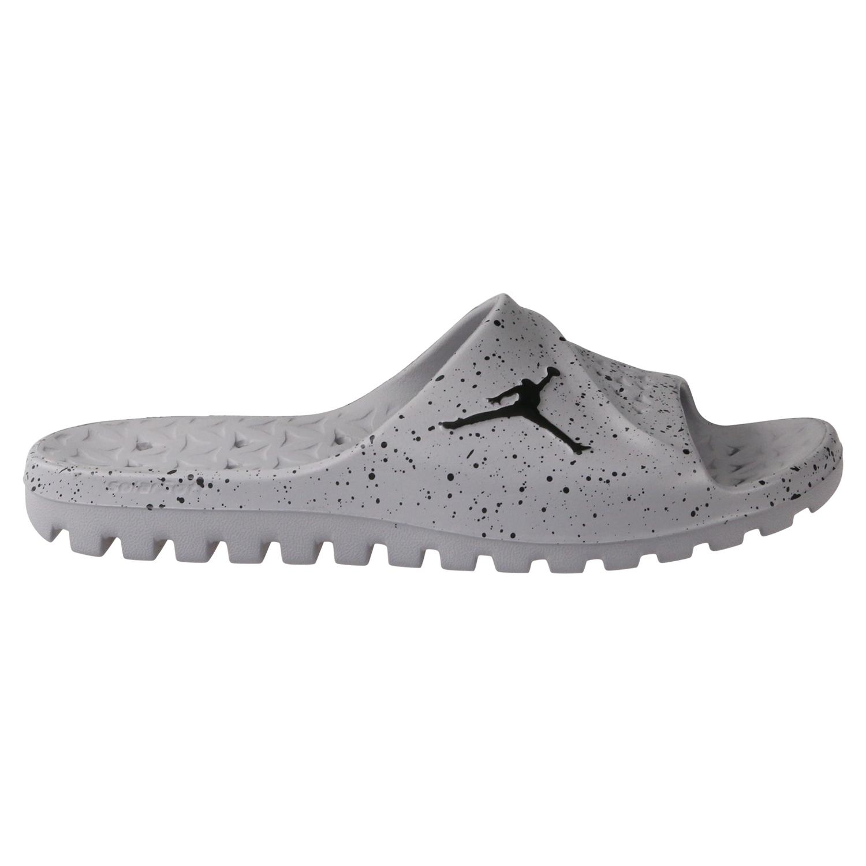 c6fee891b05b5 Nike Jordan Super.Fly Team Badeslipper Badelatschen Herren Grau ...