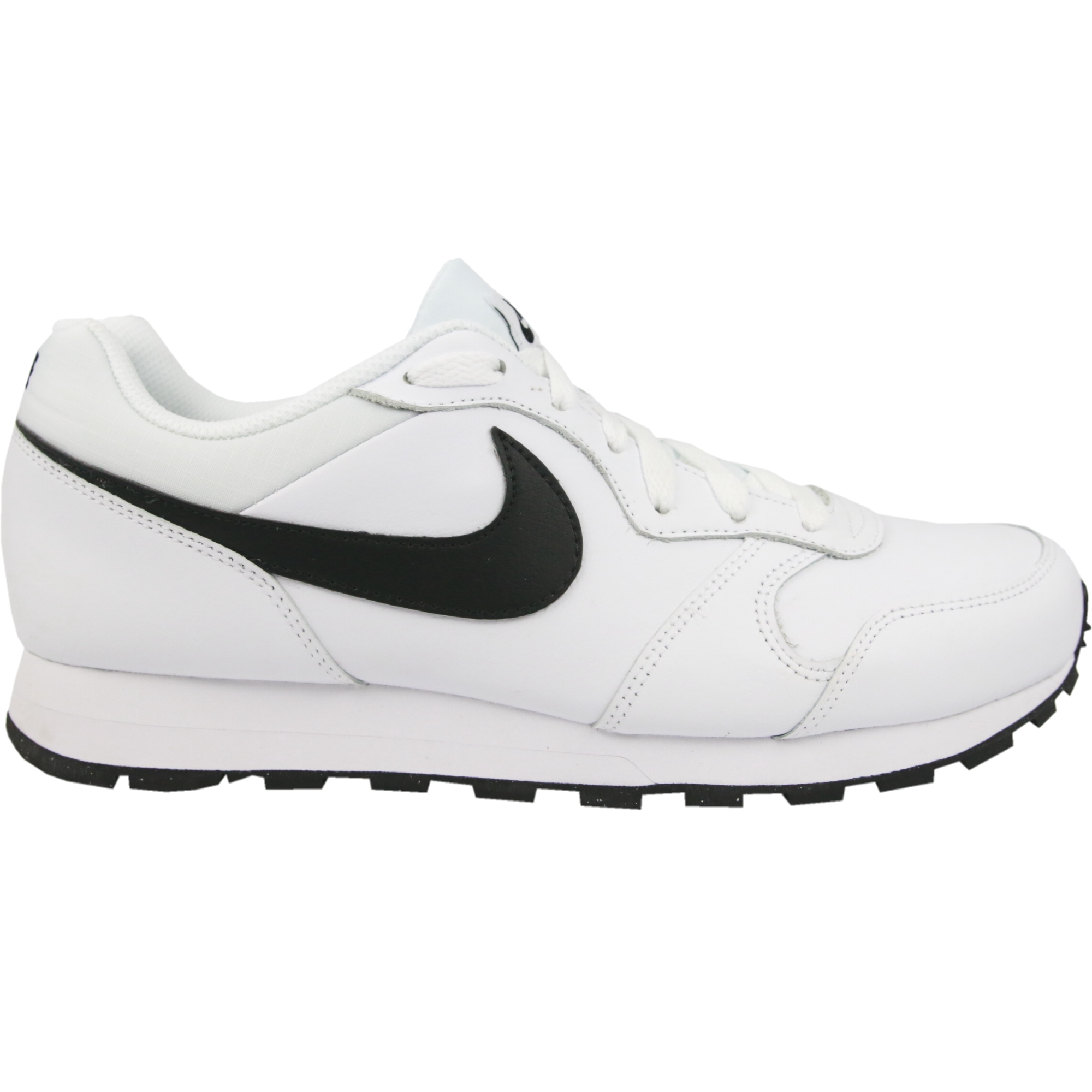Nike Hommes Blancs Runner Md