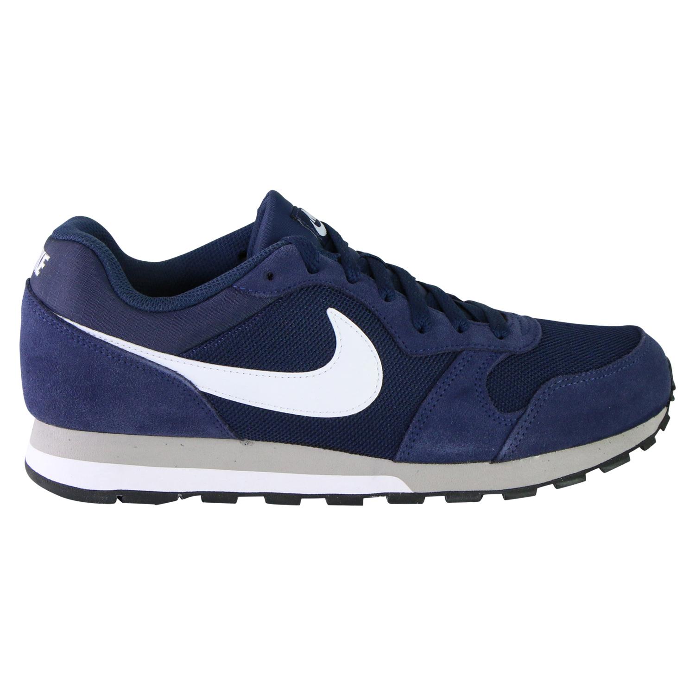Details zu Nike MD Runner 2 Midnight Navy Schuhe Sneaker Herren 749794 410 Blau