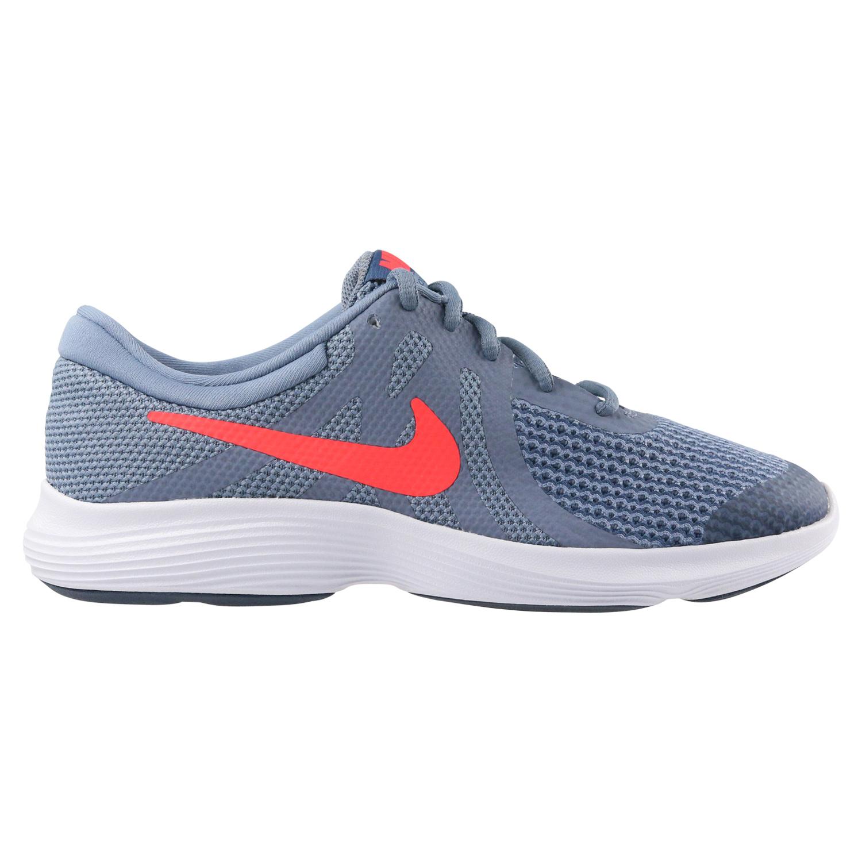 Details zu Nike Revolution 4 (GS) Laufschuhe Schuhe Sneaker Kinder Damen Grau 943309 400