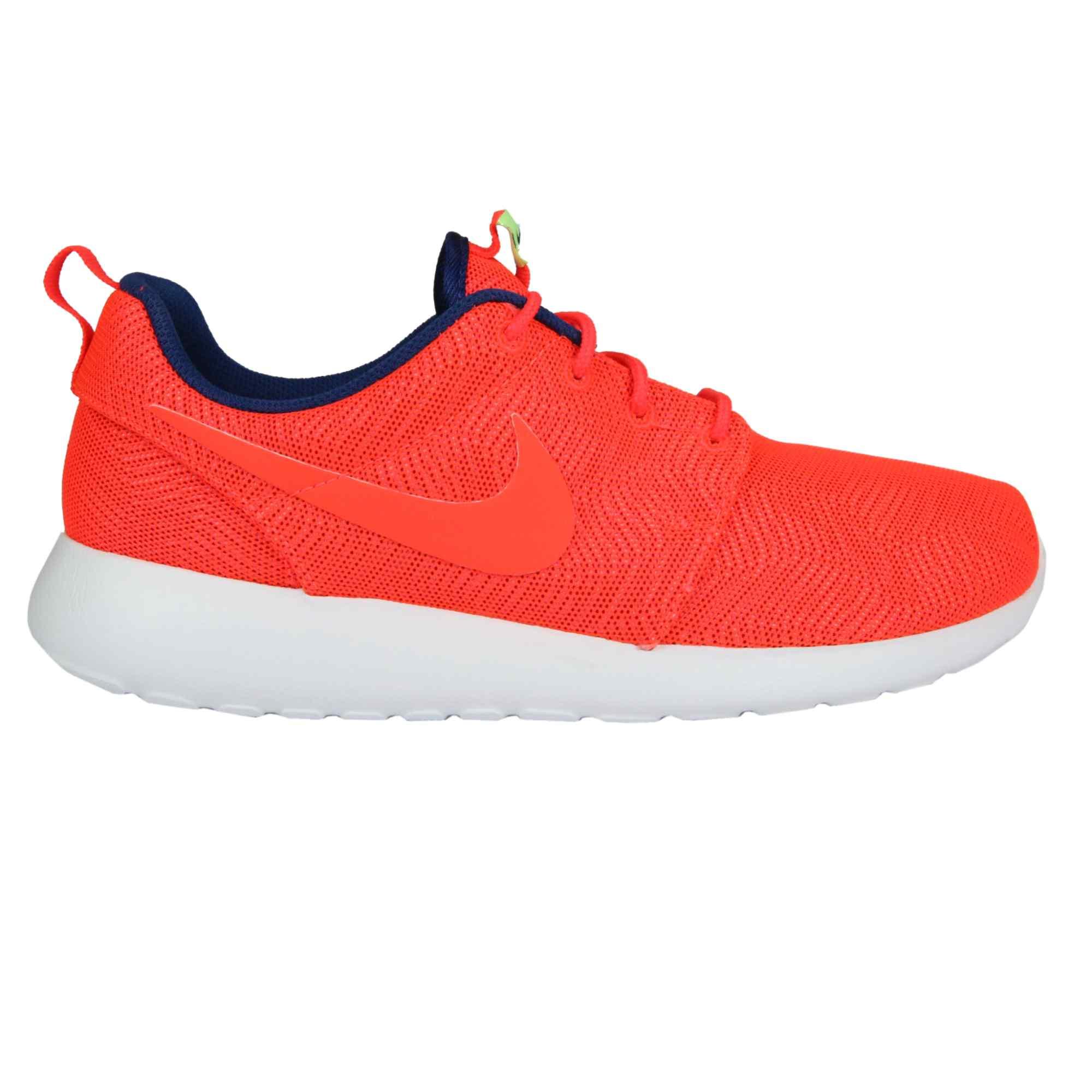 Nike Herren Roshe One Hyperfuse Br Laufschuhe  44 EURot (Total Crimson/White)