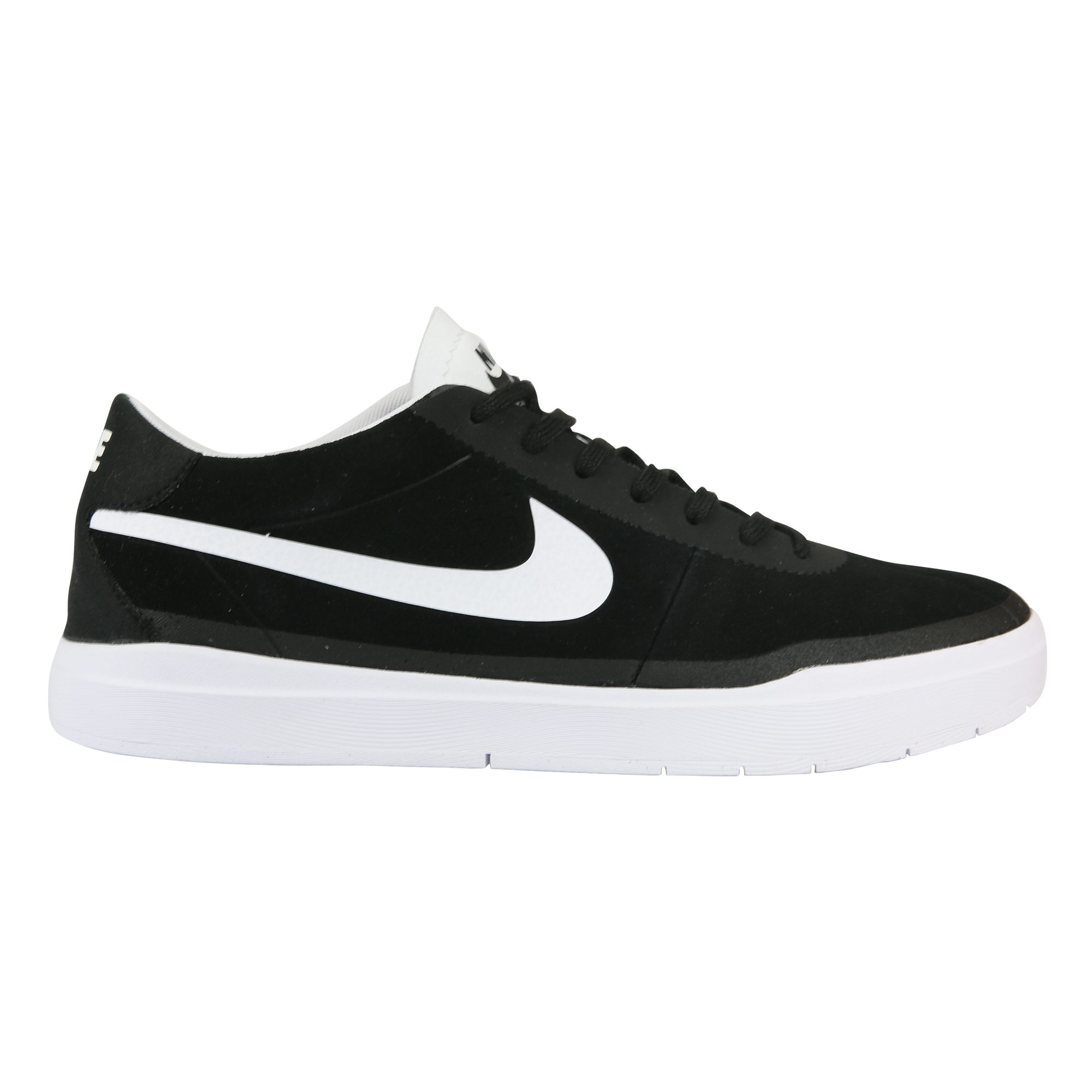 Black Suede Nike Satire Skate Shoes