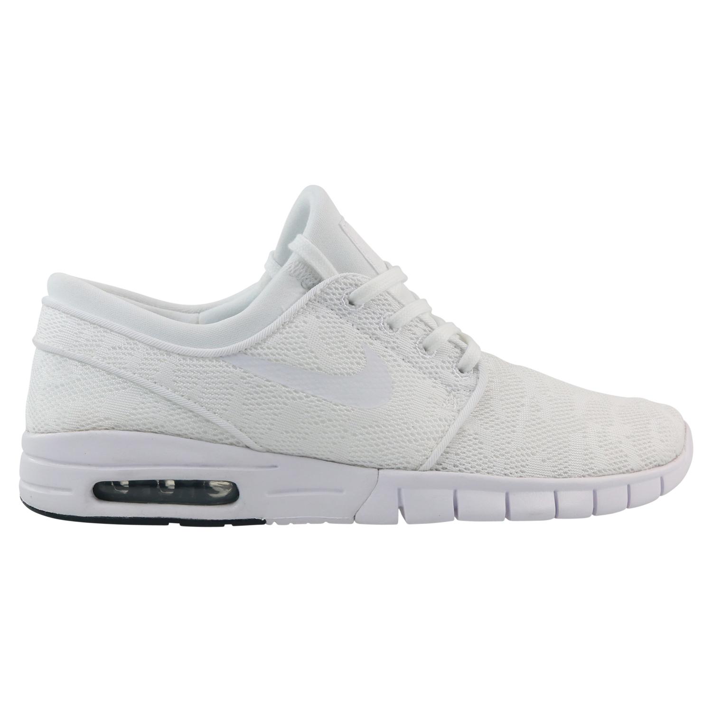 c751f4fca6f460 Nike SB Stefan Janoski Max Schuhe Sneaker Skaterschuhe Herren Weiß ...