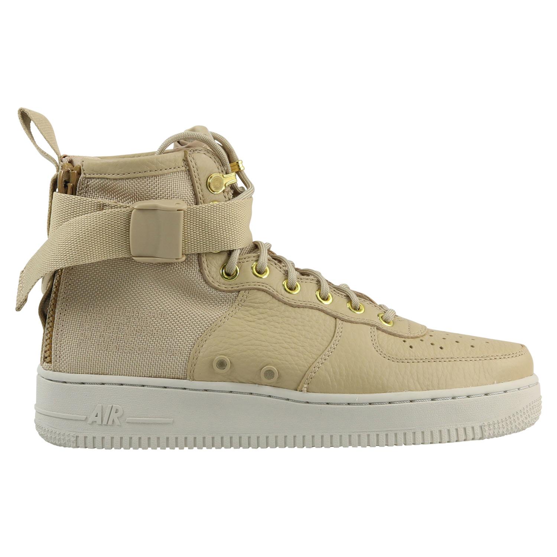 Détails sur Nike SF AIR FORCE 1 MID Chaussures Sneaker Homme 917753 200 beige afficher le titre d'origine