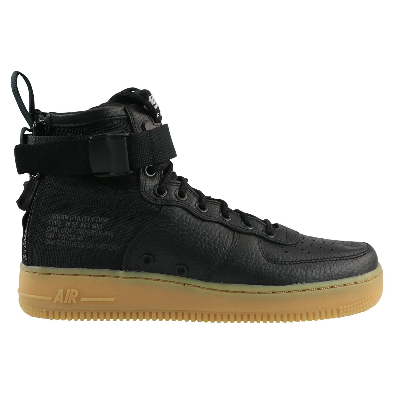 new arrival a9190 34e8d Nike SF Air Force 1 Mid Sneaker Winterschuhe Schuhe Damen Schwarz ...