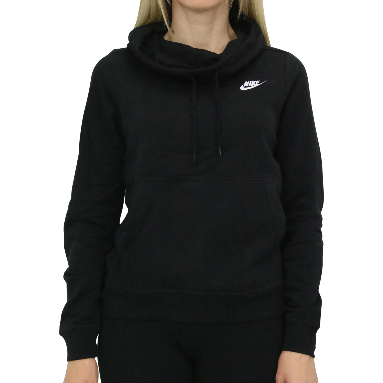 Schwarzer Nike Hoodie Damen