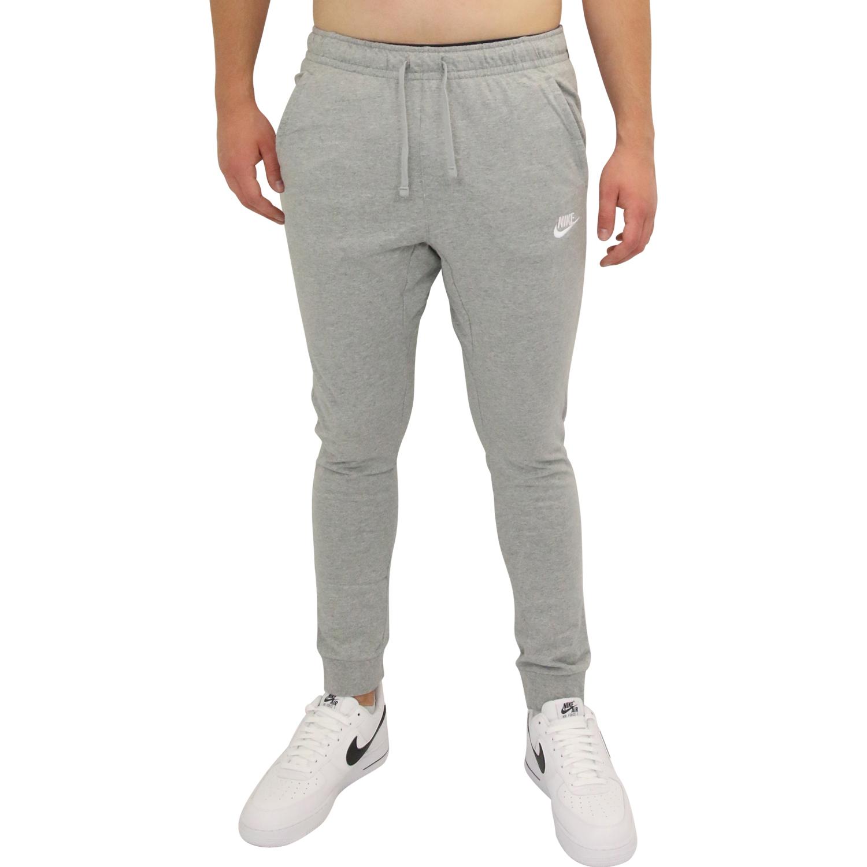 5d71162a6c842 Nike Sportswear Jogginghose Trainingshose Jogger Herren Grau 804461 ...