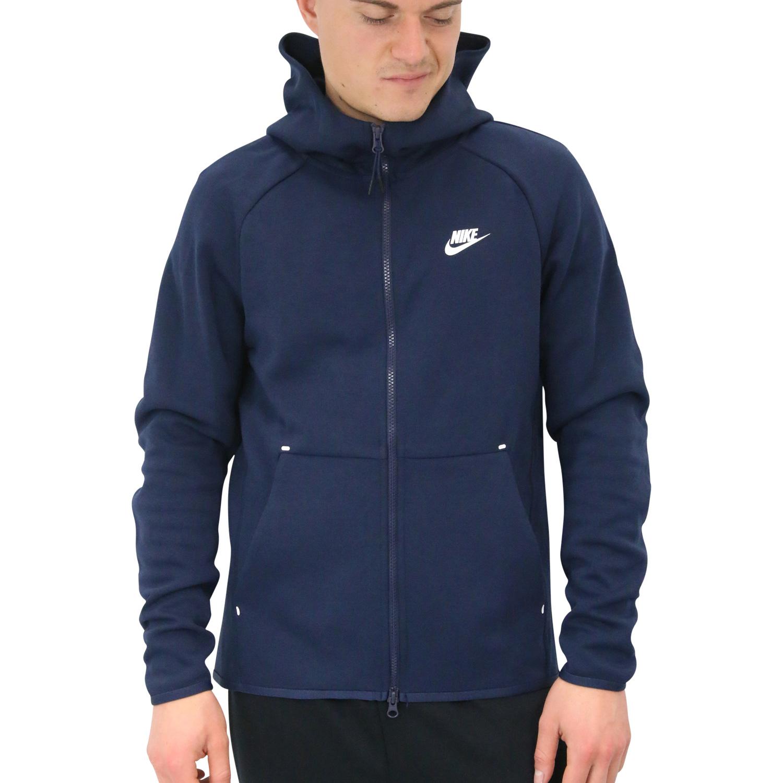 Details Hoodie Original Title Sweat 928483 Show Nike About 451 Fleece Blue Dark Jacket Mens Sportswear Tech FTl3JcK1