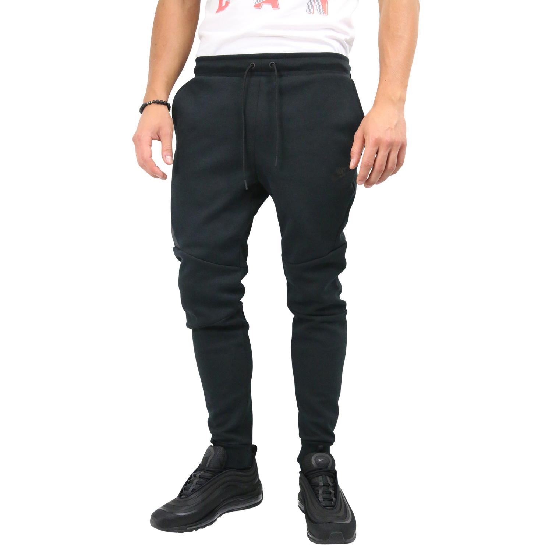 23b902cb969660 Nike Sportswear Tech Fleece Jogginghose Jogger Hose Herren Schwarz ...