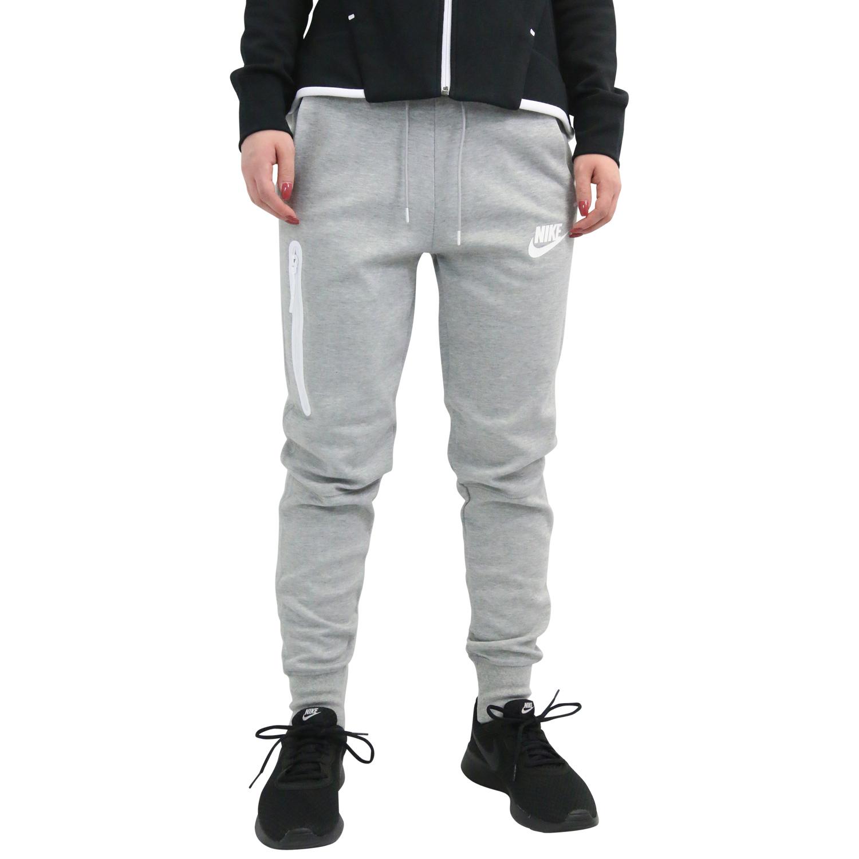 493365dd79d463 Nike Sportswear Tech Fleece Jogginghose Traingshose Damen Grau ...