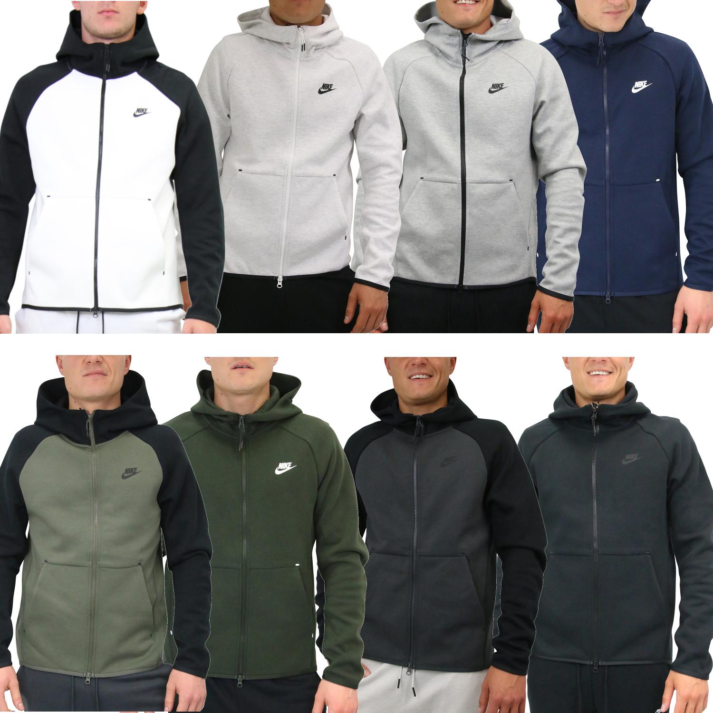 Details zu Nike Sportswear Tech Fleece Windrunner Hoodie Jacke Herren 928483