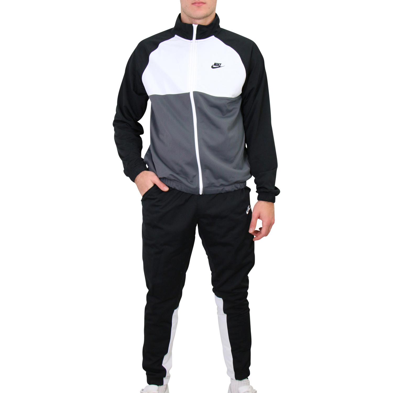 Nike Sportswear Trainingsanzug Herren Hellgrau, Weiß