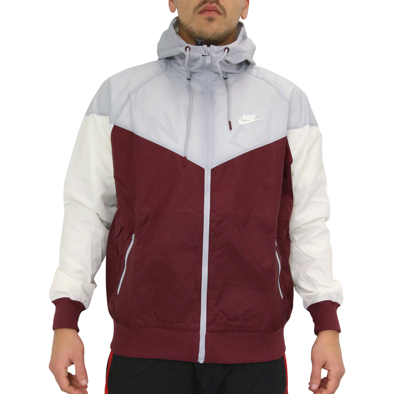 Details zu Nike Sportswear Windrunner Jacke Sportjacke Windjacke Herren AR2191 681 Weinrot